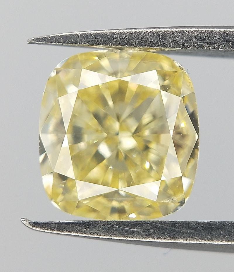 0.52 CTS , Cushion Diamond , Rare Precious Diamond .