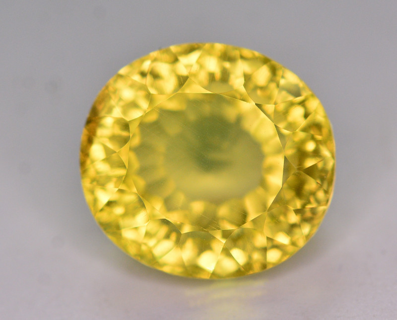 Fancy Cut 8.55 Ct Natural Citrine Gemstone