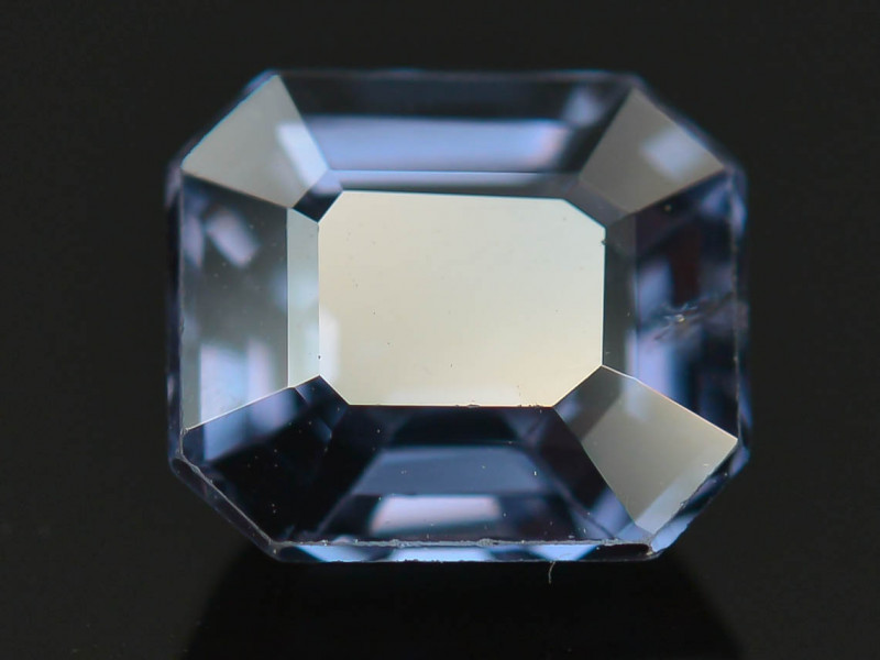 Top Asscher Cut 1.35 CT Dazzling Color Natural Spinel  From Mogok