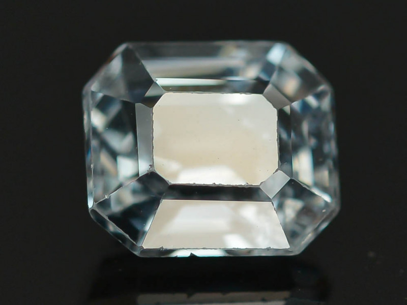 Top Asscher Cut 1.0 CT Dazzling Color Natural Spinel  From Mogok