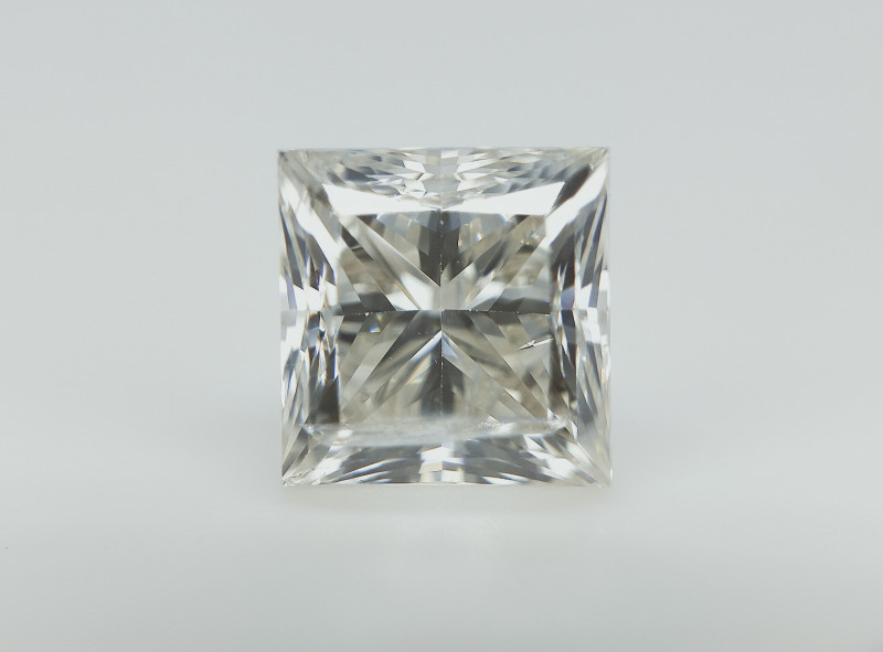 1.00 cts , White Diamond , Princess Cut  , Setting Stone