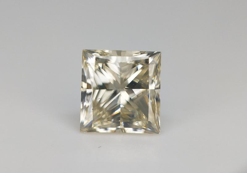0.80 cts , Natural Diamond , Princess Brilliant Cut , Amazing Lustre