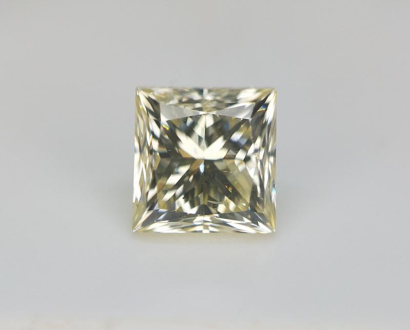0.71 cts , Princess Brilliant Cut Diamond , Smart Investment