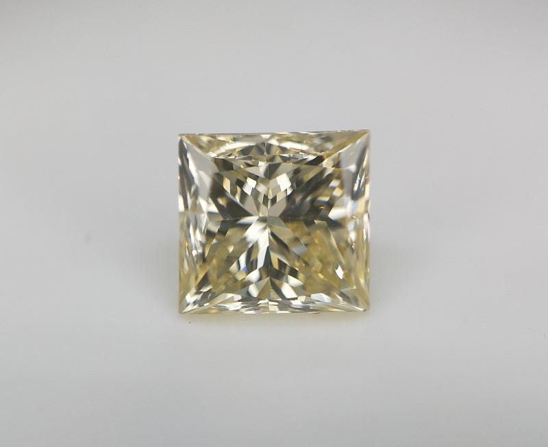 0.70 cts , Rare Diamond , Champagne Diamond , Square Diamond