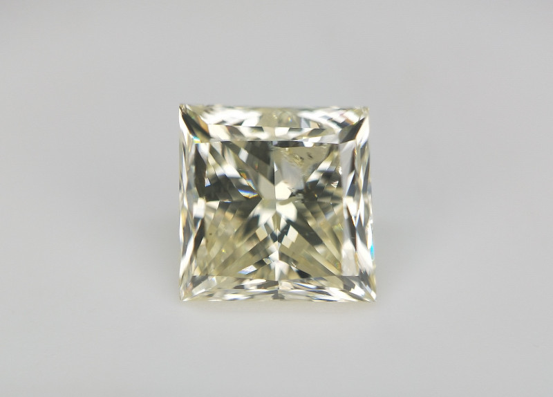 1.01 CTS , Natural Light Champagne Diamond , Solitaire