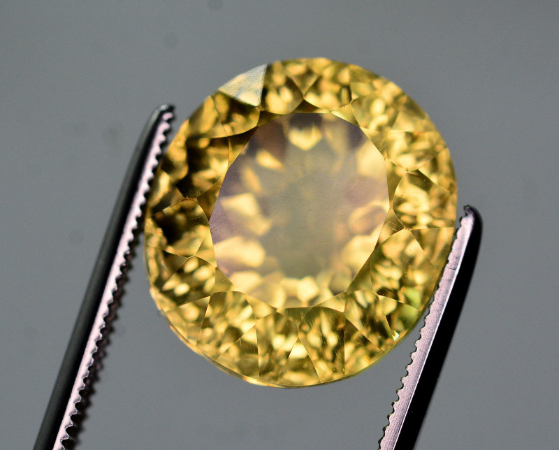 Fancy Cut 10.15 Ct Natural Citrine Gemstone
