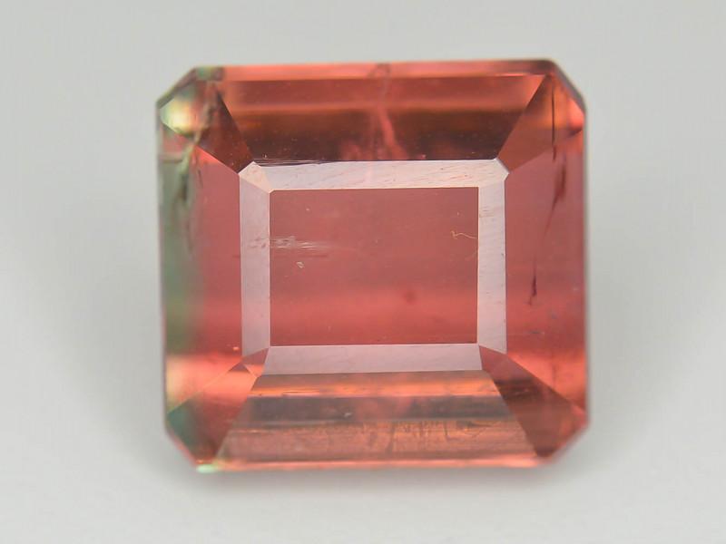 Top Grade 5.30 Ct Natural Bi Color Tourmaline