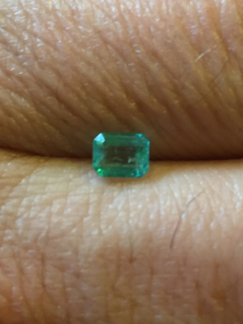 0,42ct Colombian Emeralds Ref 7/170 Colombian Natural Emerald Colombian Nat