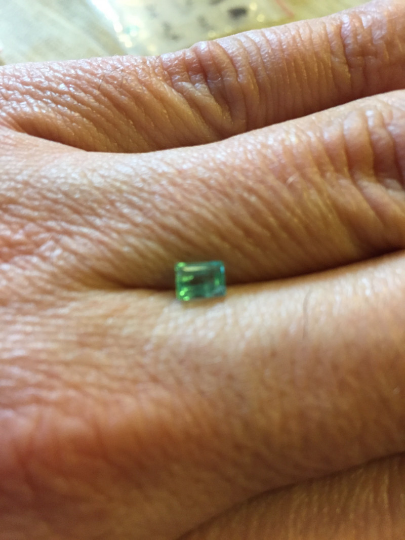 0,45ct  Colombian Emeralds Ref 9/170 Colombian Natural Emerald Colombian Na