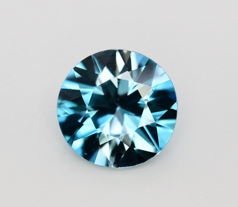 4.15 Ct Gorgeous Color Natural Vibrant Blue Zircon