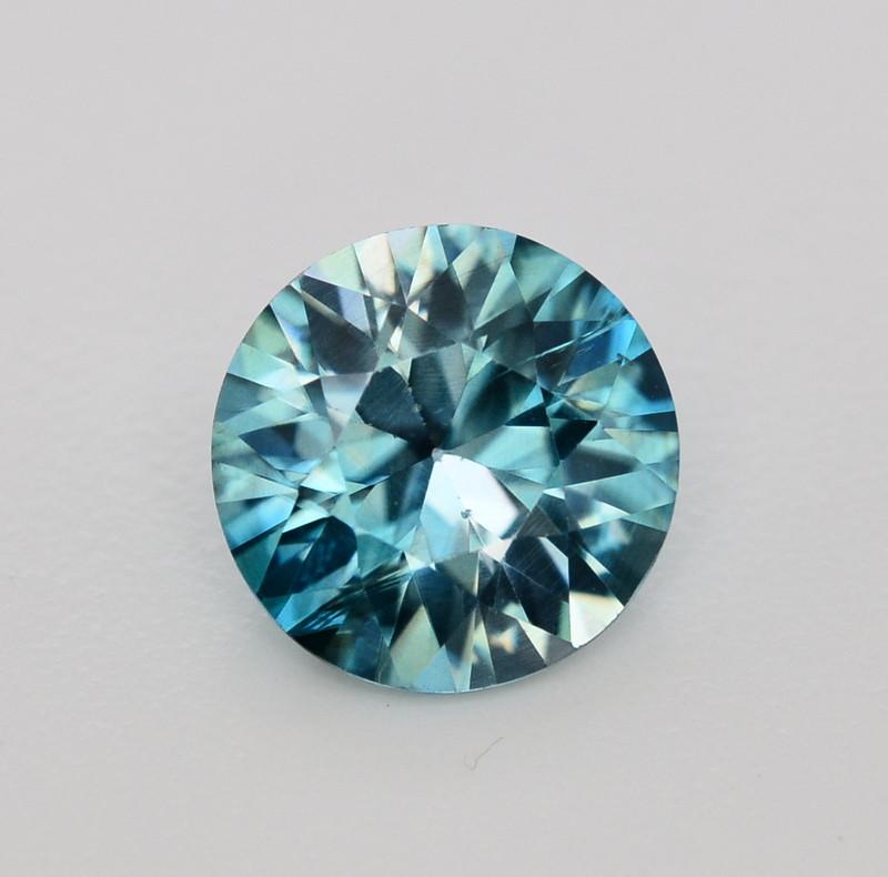 4.65 Ct Gorgeous Color Natural Vibrant Blue Zircon