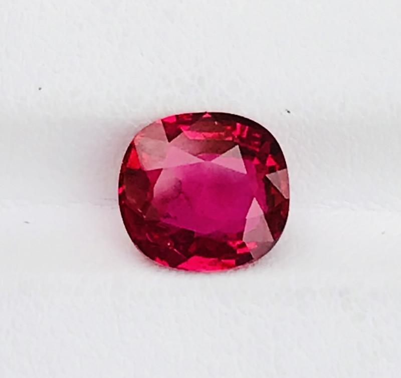2.85 Carat pigeon blood  Ruby Gemstone