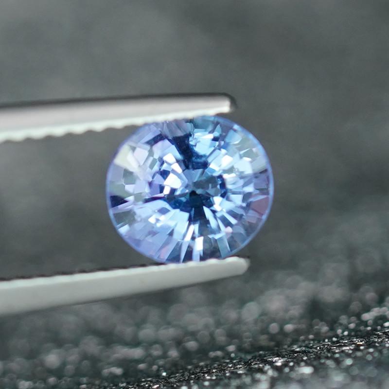 1.07CT SUPER HOT SAPPHIRE BLUE NATURAL TANZANITE $1NR!