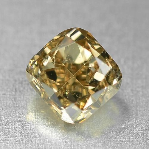 0.46 Cts Untreated Fancy Brown Color Natural Loose Diamond