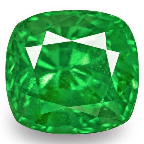 Kenya Tsavorite Garnet, 1.56 Carats, Fiery Green Oval
