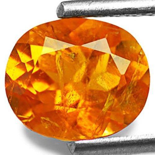 Tanzania Clinohumite, 1.34 Carats, Fiery Orange OvalTanzania Clinohumite, 1