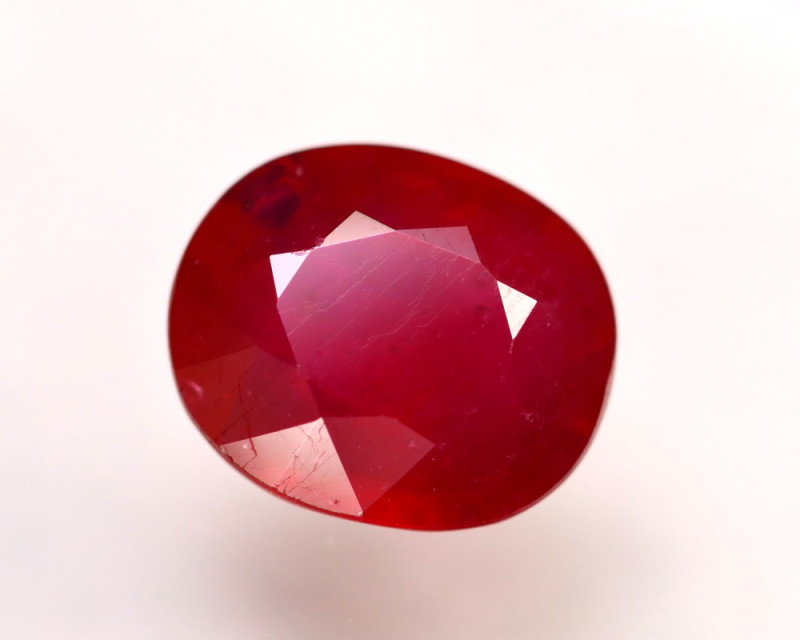 Ruby 9.38Ct Madagascar Blood Red Ruby  ER50/A20