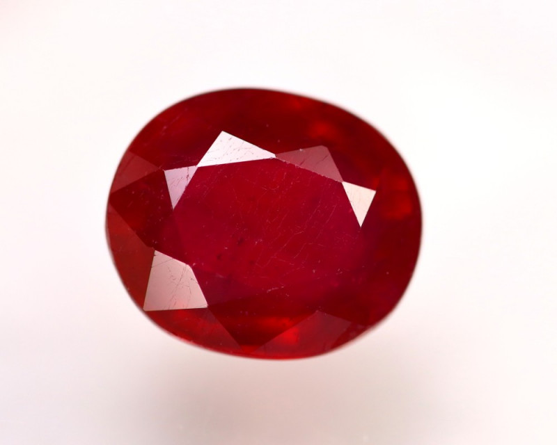 Ruby 9.41Ct Madagascar Blood Red Ruby  ER51/A20