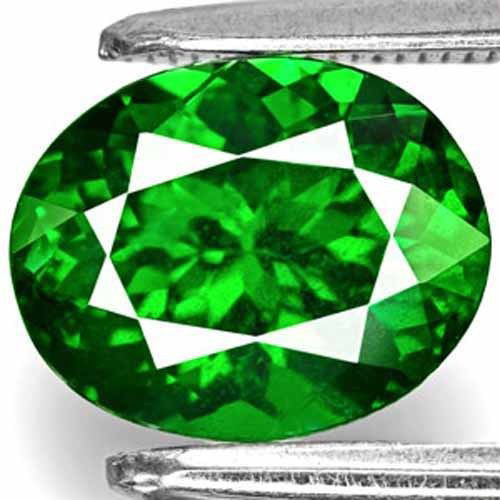 Kenya Tsavorite Garnet, 2.24 Carats, Fiery Deep Chrome Green Oval