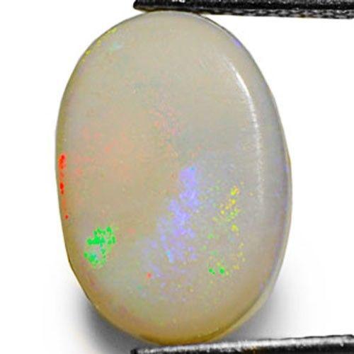 Australia Opal, 2.91 Carats, Greyish White Oval
