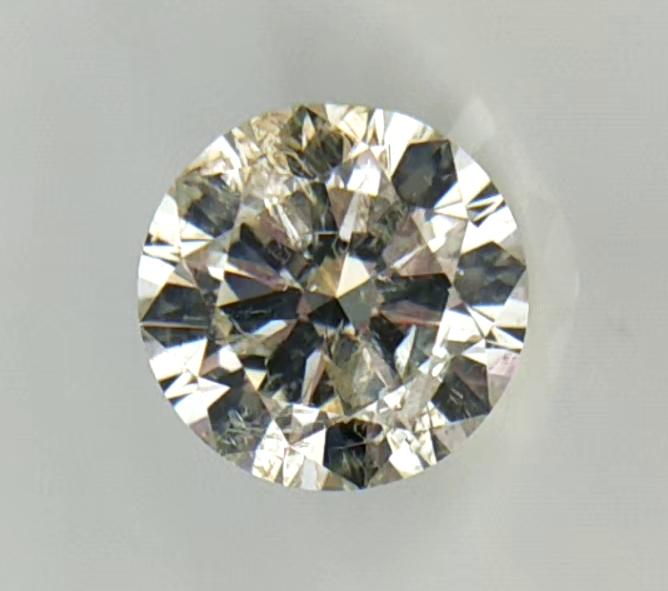 1.13 cts , Round Diamond , Light Color Diamond