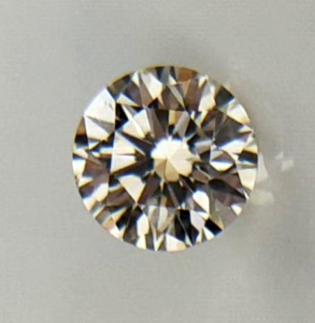 0.21 ct , Light Yellow Color Diamond