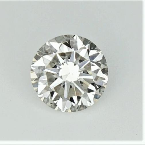 0.30 cts , Natural Round Diamond , Light color Diamond , WR1176