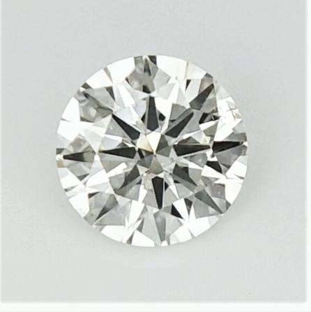 0.295  , Off White Diamond , Round Excellent Cut , WR1177