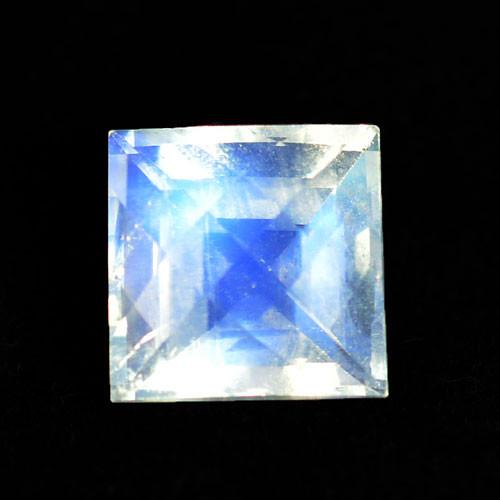5.77 Cts BEAUTIFUL NATURAL BLUE MOONSTONE SQUARE CHECKER BOARD