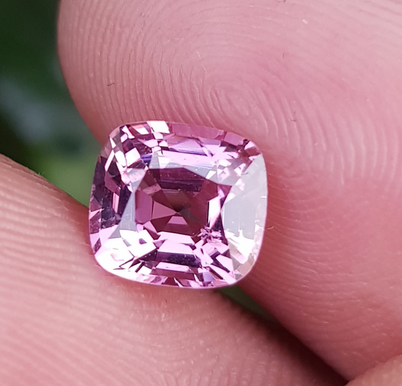 NO TREAT 1.58 CTS NATURAL STUNNING ANTIQUE CUSHION PINK SPINEL FROM BURMA