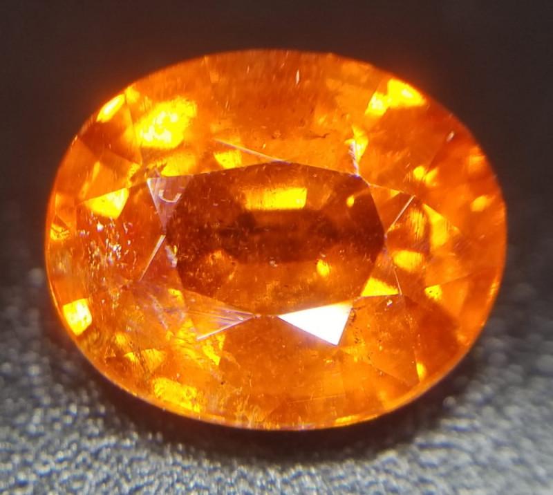 Spessartite, 2.55ct, extremly beautiful gemstone!!