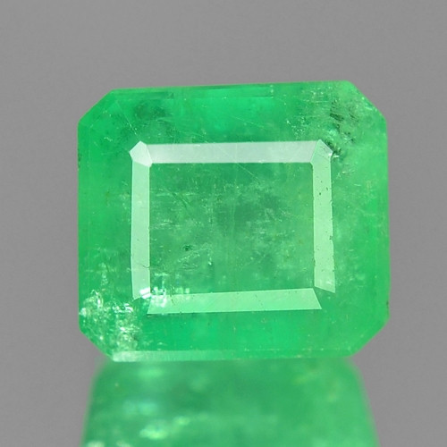 2.25 Cts Natural Earth Mined Green Color Colombian Emerald Gemstone