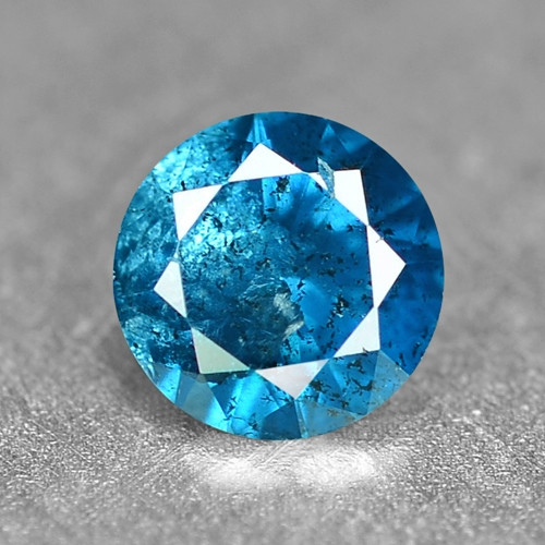 0.15 Cts Sparkling Rare Fancy Intense Blue Color Natural Loose Diamond