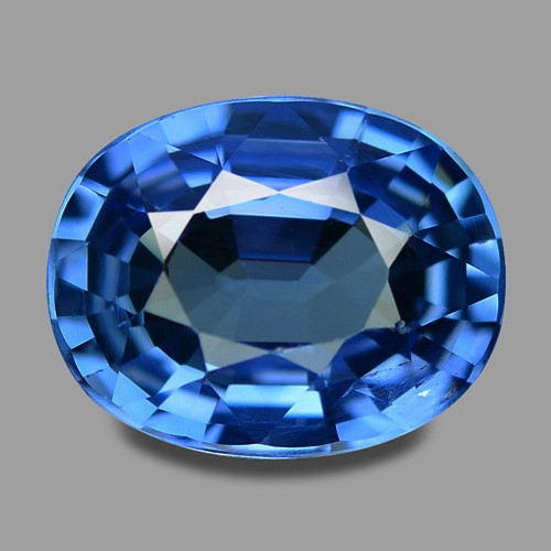 2.55  Cts Amazing Rare Natural Royal Blue Ceylon Sapphire Loose Gemstone