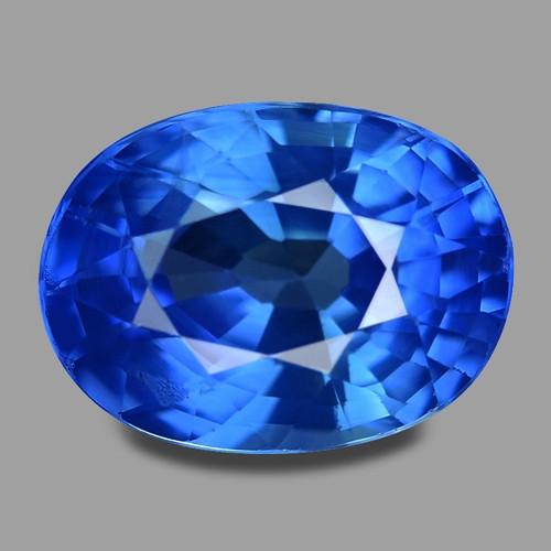 1.96 Cts Amazing Rare Natural Royal Blue Ceylon Sapphire Loose Gemstone