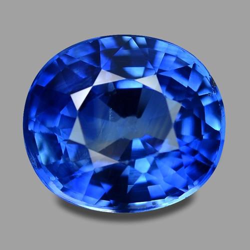 1.94 Cts Amazing Rare Natural Royal Blue Ceylon Sapphire Loose Gemstone