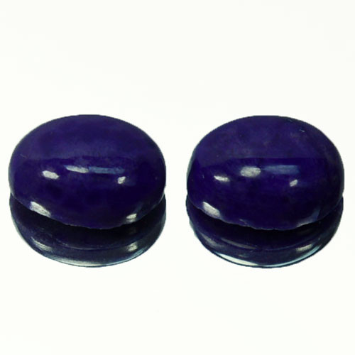 4.05Ct Natural Sugilite Oval Cabochon pair South africa