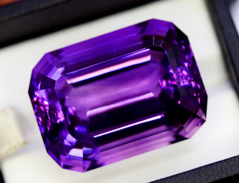 Amethyst, 67.00 Cts Natural Top Color & Cut Amethyst Gemstones