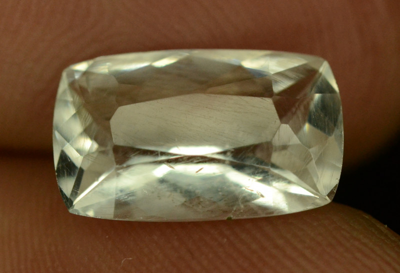 Rare  2.55 ct Natural Kunar Pollucite Collector's Gem