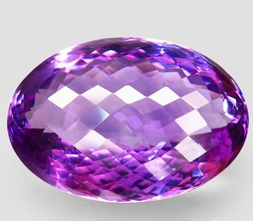 59.85 ct. Natural Top Nice Purple Amethyst Unheated Brazil