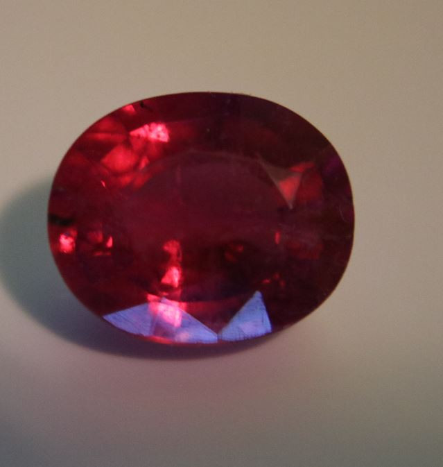 Rubellite 4.25ct Oval