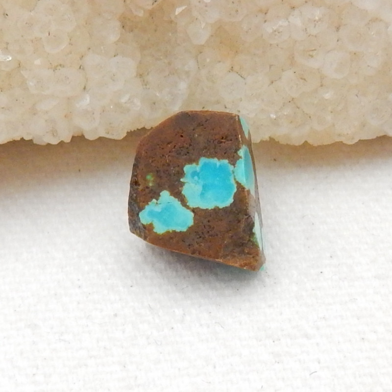 9.5cts Nugget Turquoise Pendant ,Handmade Gemstone ,Side Drilled G76