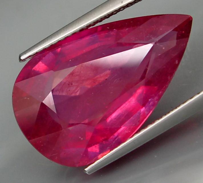 14.37 Cts . Top Quality Natural  Ruby   Winza Tanzania Gem