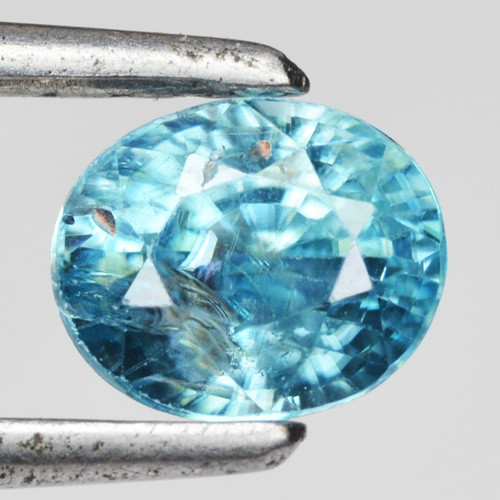 1.31 cts Blue Zircon Natural Loose Gemstone