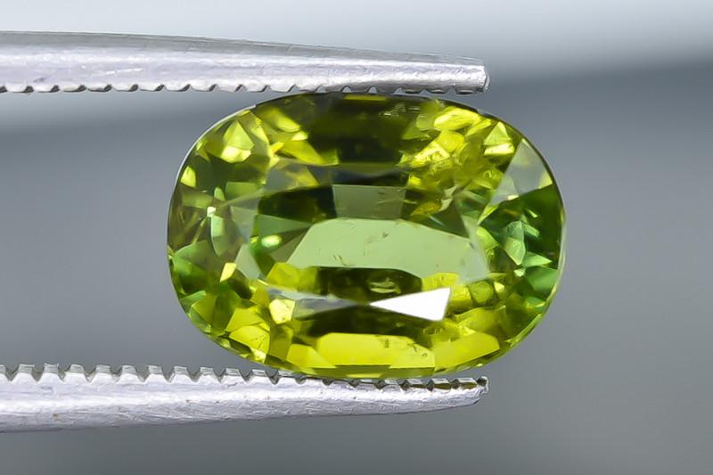 3.39 Crt Natural Tourmaline  Faceted Gemstone.( AB 53)