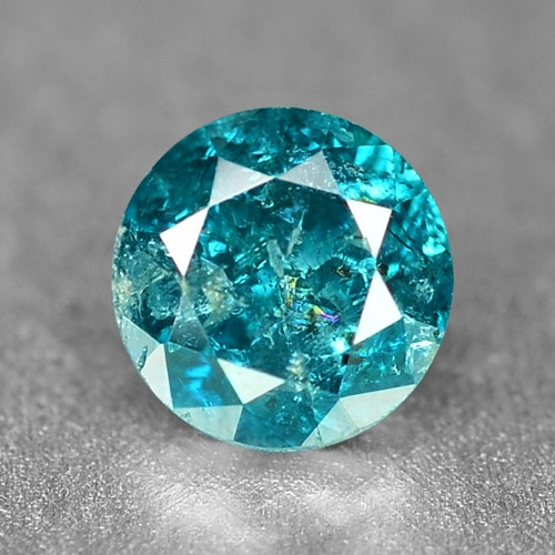 0.17 Cts Sparkling Rare Fancy Intense Blue Color Natural Loose Diamond
