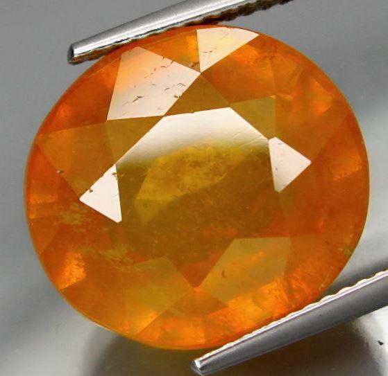 18.02 ct.  BIG  Natural Orangey Yellow Sapphire   Africa