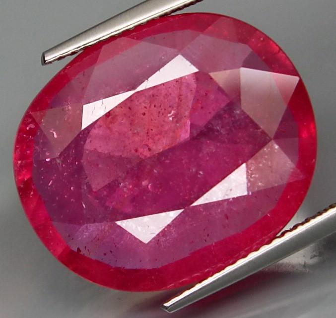 18.36  Cts . Top Quality Natural  Ruby   Winza Tanzania Gem
