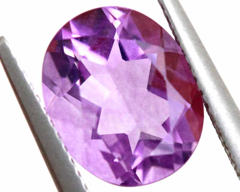 4.29CTS BRAZILIAN FLUORITE FACETED STONE  CG-2896