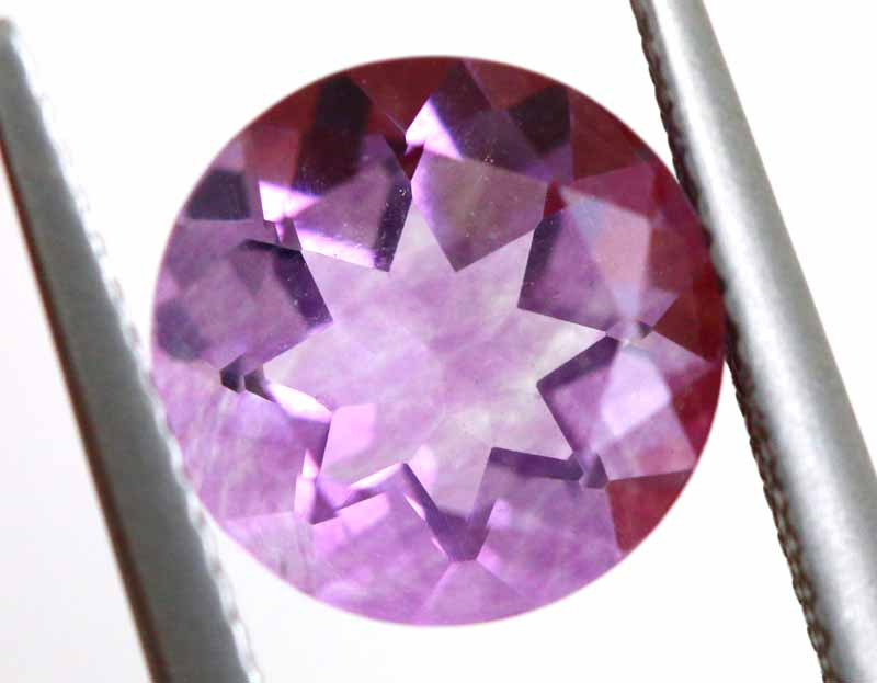 4.13CTS BRAZILIAN FLUORITE FACETED STONE  CG-2901